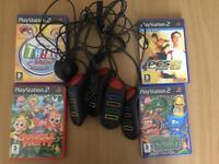 PS2 games with controllers