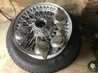 MGB wire Wheels for sale