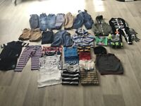 Huge bundle of boys clothes age 2-3 years