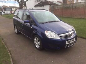 Vauxhall Zafira 1.9 CDTi Exclusiv 5dr£3,499 p/x welcome 6 MONTHS FREE WARRANTY