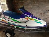 Jetski 750 Kawasaki boat