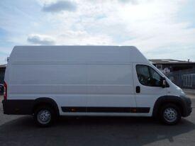 FINANCE ME!! NO VAT!! Fiat ducato 130 multijet extra high extra long pannel van