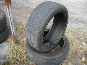 Two 235-45-20 tires $200.00