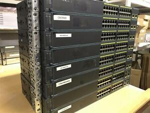 $$$ SPECIAL 2 SWITCH 24 PORTS CISCO CATALYST 2960 SERIES 10/100