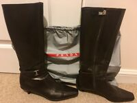 Prada boots size 7