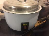 buffalo catering size rice cooker