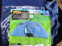 4 man Tent and accessories