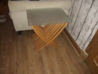 2 side tables for sale .