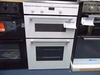 EX-DISPLAY INDESIT WHITE INTEGRATED DOUBLE OVEN REF: 13289