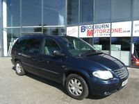 2004 54 CHRYSLER GRAND VOYAGER 3.3 LIMITED 5d 172 BHPcFREE 12 MONTHS MOT *** GUARANTEED FINANCE ***