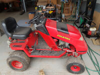 Countax C500H Ride on Mower. Spares or Repairs