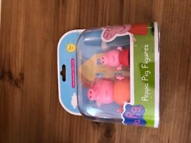 Peppa pig figures brand new