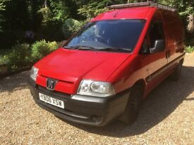 Peugeot Expert 1.9 Diesel and matching trailer For Sale