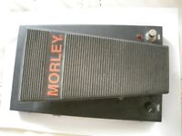 Morley PWV Pro Series Wah Volume stompbox/pedal/effects unit for electric guitar - USA