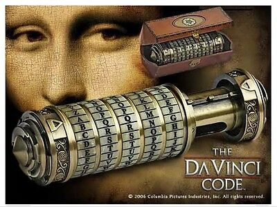 The Da Vinci Code Keystone Cryptex 1:1 Scale Replica Brand New Noble...