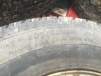 Mitsubishi l200 pickup 1996-2006 wheels an part worn tyres