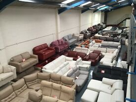 Leather, fabric sofas, corner sofas, manual and electric recliner sofas, sofa beds