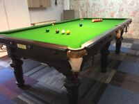 Hargreaves snooker table