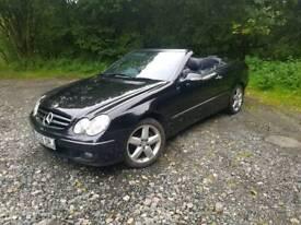 Mercedes CLK Convertible
