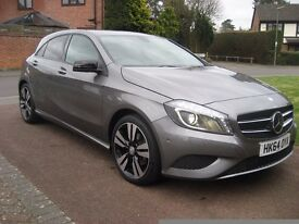Mercedes A180 Sport with night pack and parking assist