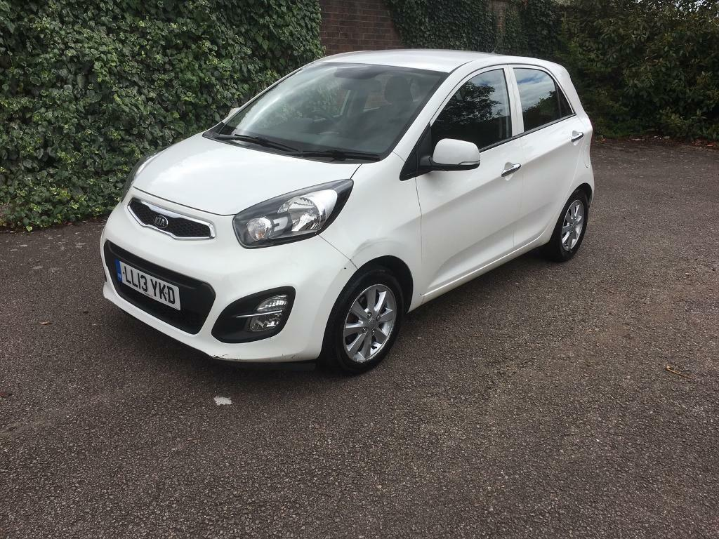 kia picanto 1 2 automatic 2013 new model 5dr hatchback white part exchange welcome ideal export. Black Bedroom Furniture Sets. Home Design Ideas