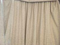 Curtains for huge windows / bays pelmet neutral over 3m