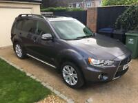 Mitsubishi Outlander GX4. 2.2L. FULL LEATHER. SAT NAV. 7 SEATS