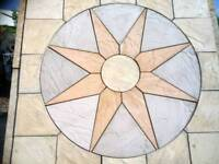 Sun Rotunda Circular Slab Flag Paving Kit