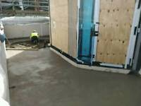 Screeding, floor laying service