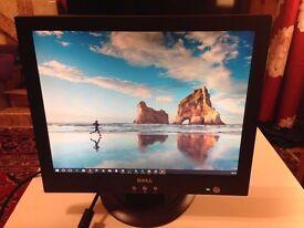 """DELL 15"""" LCD MONITOR E151FPP - VGA PORT - BLACK"""