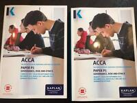 ACCA P1 Kaplan tuition and revision kits