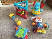 Selection of baby toys inc Lamaze, Tomy