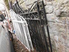 RECLAMED METAL GATES ( DRIVEWAY AND SECURITY GATES )