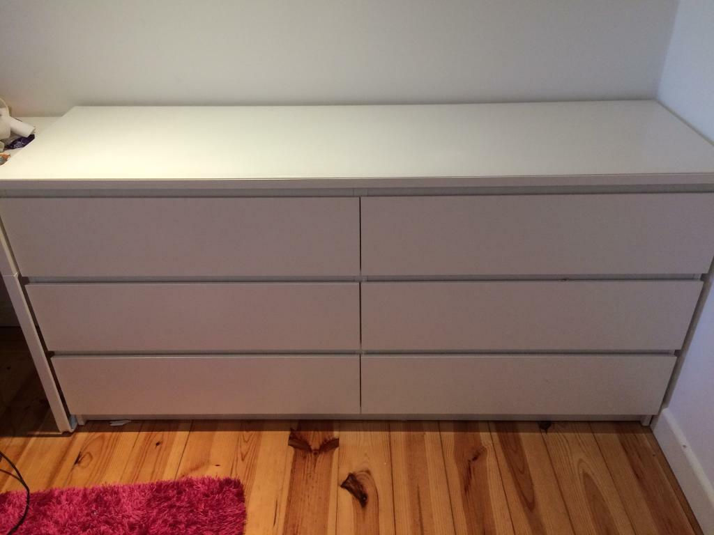 set of kullen ikea 6 chest of draws | in west bromwich, west