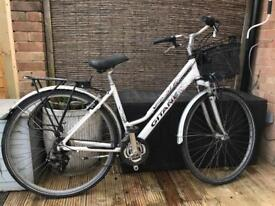 Ladies bicycle with front basket