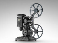 Old cine films / projectors - 8mm / 16mm or 35mm wanted - home movies or films.