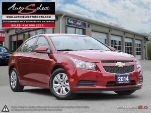 2014 Chevrolet Cruze ONLY 52K! **CLEAN CARPROOF** BLUETOOTH