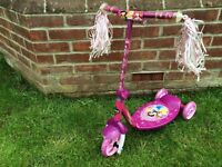 Huffy Brand Disney Princess Girls' 3-Wheel Scooter