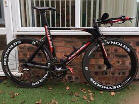 carbon time trial bike (56cm)