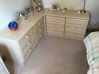Mirror Image bedroom drawer units