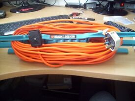 extension lead from Black and Decker about 25 m