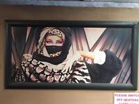 Arabic lady Painting