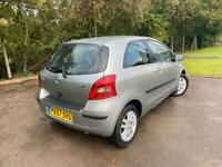 2 Owners 8 Toyota Stamps, A/C, Alloys, 2 Keys,2007 57 Toyota Yaris 1.3 TR 3 Door Hatchback
