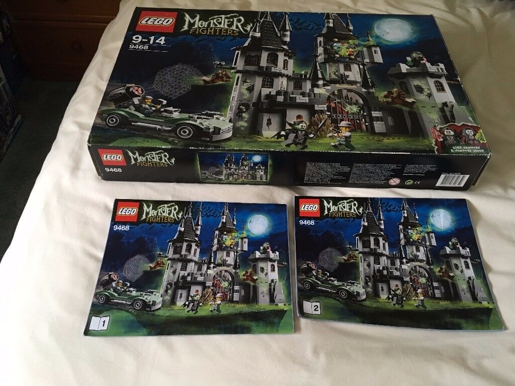 LEGO 9468 Monster Fighters - Vampyre Castle Set (Used) Collect Only