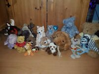 bundle soft cuddly toys