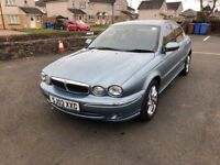 STUNNING JAGUAR X-TYPE 35000 MILES FROM NEW FULL SERVICE HISTORY RELIABLE CAR PX WELCOME £1295