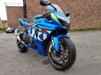 Suzuki GSXR 1000 GSXR1000 - ABS version - MotoGP - only 3000 miles - 2015 - 65 Plate