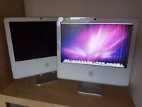 "2x FAULTY 17"" Apple iMac A1173"
