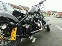 Ajs bobber hardtail 125cc 15 plate