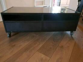 Coffee Table with draws and shelves
